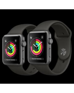 Jam Apple iphone watch series 3 GPS 42mm baru new