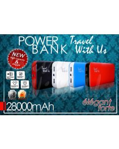 Power Bank Travel With Us 28000 mAH